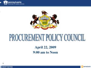April 22, 2009 9:00 am to Noon