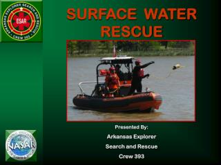 SURFACE  WATER RESCUE