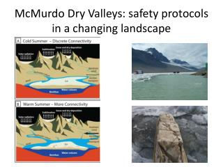 McMurdo Dry Valleys: safety protocols  in a changing landscape