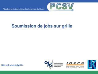 Soumission de jobs sur grille