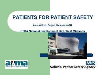 Patients for Patient Safety