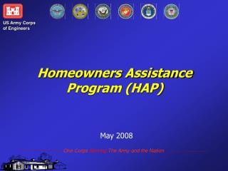 Homeowners Assistance  Program (HAP)