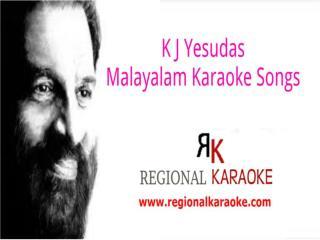 k j yesudas malayalam karaoke songs