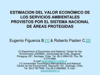 CATEGORIAS DE AREAS PROTEGIDAS      CONSIDERADAS EN EL PRESENTE ESTUDIO