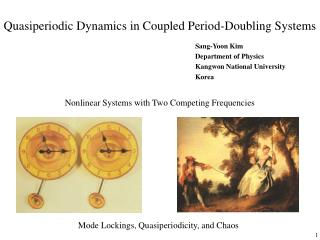 Quasiperiodic Dynamics in Coupled Period-Doubling Systems