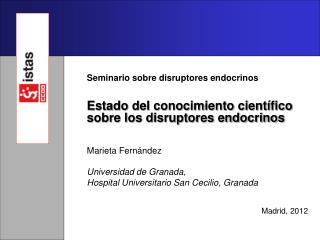 Seminario sobre disruptores endocrinos
