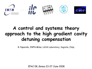 A control and systems theory approach to the high gradient cavity detuning compensation