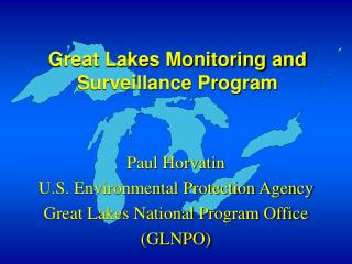 Great Lakes Monitoring and Surveillance Program