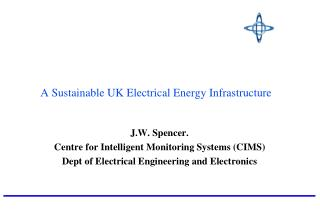 A Sustainable UK Electrical Energy Infrastructure