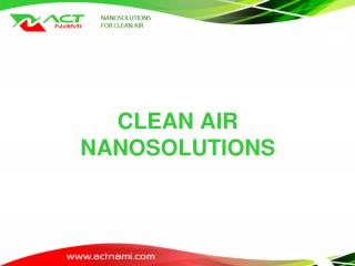 CLEAN AIR NANOSOLUTIONS