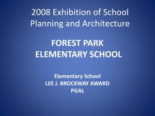 FOREST PARK  ELEMENTARY SCHOOL