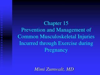 Mimi Zumwalt, MD