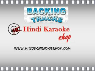 mp3 Karaoke Backing Tracks