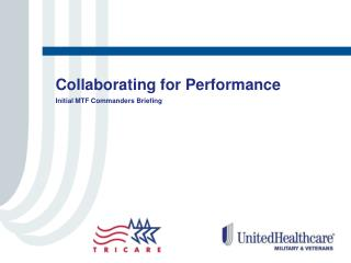 Collaborating for Performance