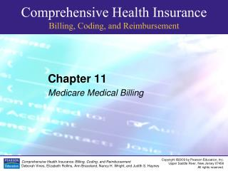 Chapter 11 Medicare Medical Billing