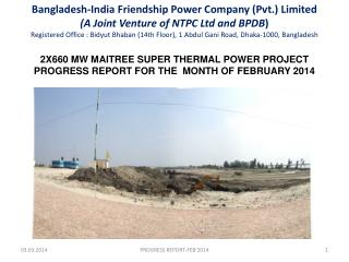 2X660 MW MAITREE SUPER THERMAL POWER PROJECT