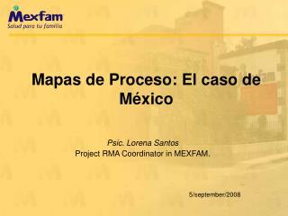 Mapas de Proceso: El caso de México