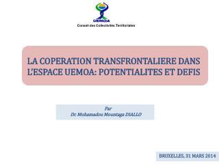 LA COPERATION TRANSFRONTALIERE DANS L�ESPACE UEMOA: POTENTIALITES ET DEFIS