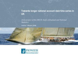 Towards longer national account data time series in UK