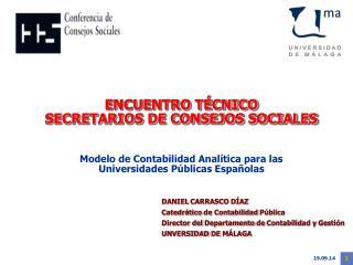 ENCUENTRO TÉCNICO  SECRETARIOS DE CONSEJOS SOCIALES