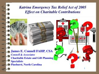 Katrina Emergency Tax Relief Act of 2005 Effect on Charitable Contributions