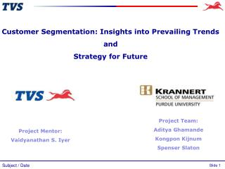 Customer Segmentation: Insights into Prevailing Trends  and  Strategy for Future