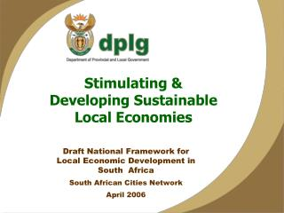 Stimulating & Developing Sustainable Local Economies