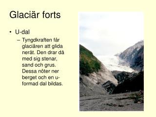 Glaciär forts