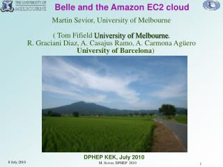 Belle and the Amazon EC2 cloud