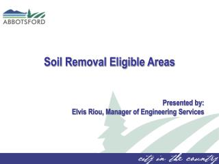 Soil Removal Eligible Areas