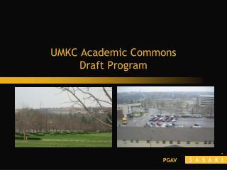UMKC Academic Commons Draft Program
