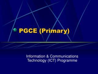 PGCE (Primary)