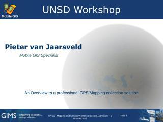 UNSD Workshop