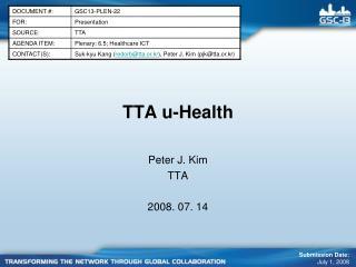 TTA u-Health