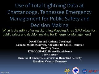 Use of Total Lightning Data at