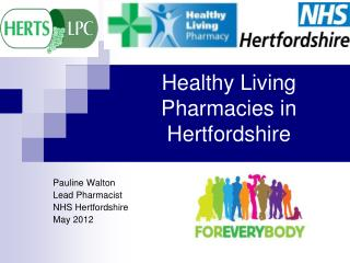 Healthy Living Pharmacies in Hertfordshire