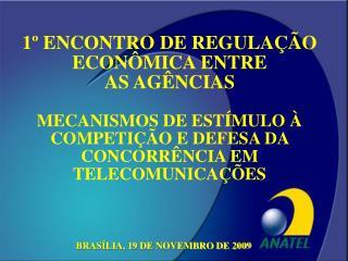 BRASÍLIA, 19 DE NOVEMBRO DE 2009