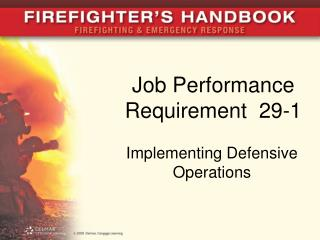 Job Performance Requirement  29-1
