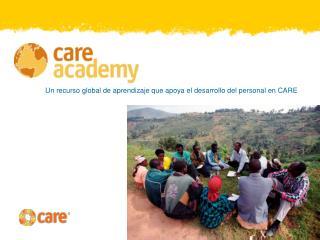 Un recurso global de aprendizaje que apoya el desarrollo del personal en CARE