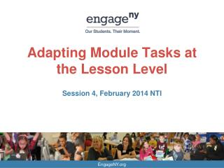 Adapting Module Tasks at the Lesson Level