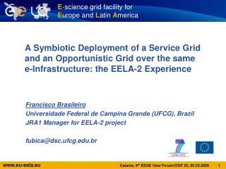Francisco Brasileiro Universidade Federal de Campina Grande (UFCG), Brazil