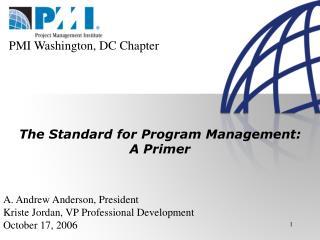 PMI Washington, DC Chapter