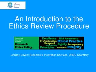 An Introduction to the Ethics Review Procedure