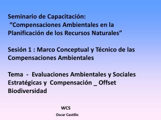 1. Intervenciones y proyectos en el Marco IIRSA