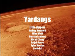 Yardangs