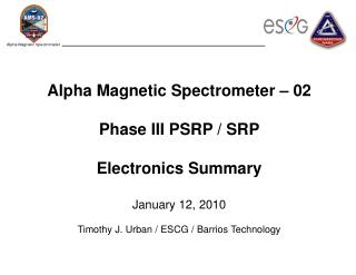 Electronics updates since Phase II Baroswitch Electronics (BSE)