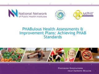 PHABulous Health Assessments & Improvement Plans: Achieving PHAB Standards