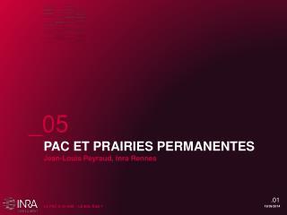 PAC ET PRAIRIES PERMANENTES