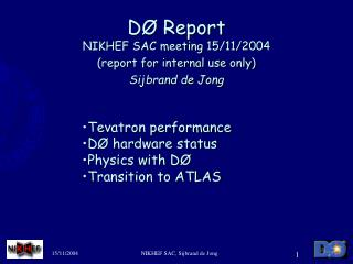 D� Report