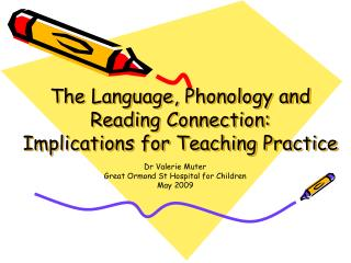 The Language, Phonology and Reading Connection: Implications for Teaching Practice